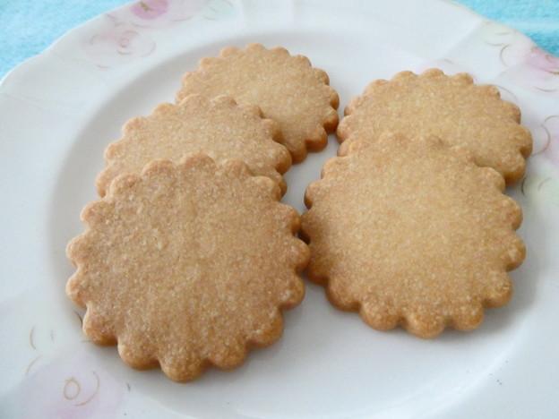 Photos: 足立音衛門*和三盆入りクッキー3