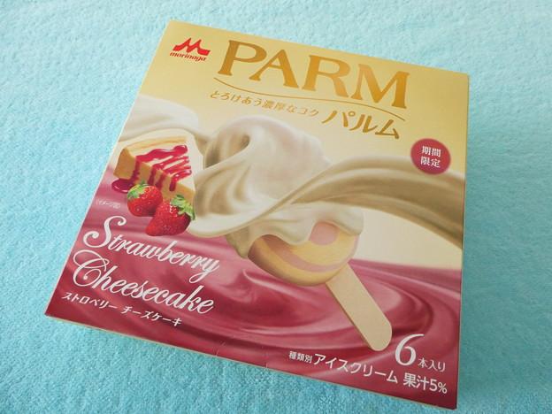 PARM ストロベリーチーズケーキ1