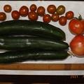 Photos: 2021/07/26(月)・朝採れた野菜達