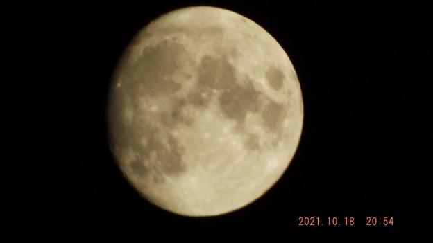 2021/10/18(月)・十三夜のお月様