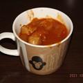 2021/10/25(月)・里芋とカブもほっくりのチキンのトマト煮