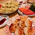 0307_夕飯に温めた中国人が作ったギョーザ