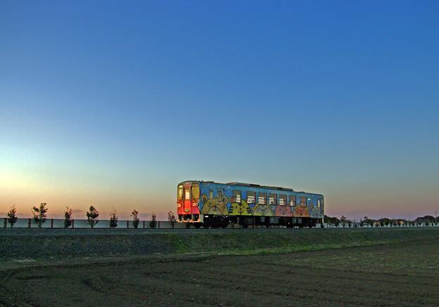 黄昏のローカル鉄道