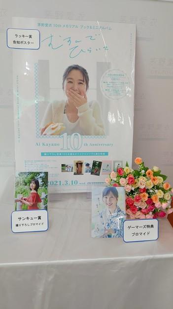 茅野愛衣10thメモリアル ブック&ミニアルバム「むすんでひらいて」発売記念アザーカット写真展