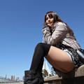 Photos: ブーツ自慢の彼女