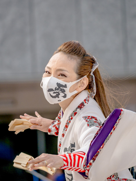 YOSAKOIソーラン日本海加賀会場2021 朝倉無限隊~夢幻。