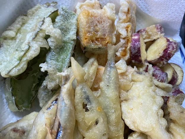 2021.9.29 魚と野菜の天ぷら