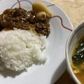 2021.10.18 ももちゃんママのハッシュドビーフと具沢山スープ