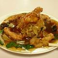 645 珉珉の鶏焼きそば 日立市