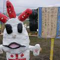 Photos: 里美の米つぶくん 里美かかし祭2013