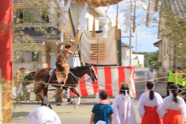 Photos: 飯野八幡宮の流鏑馬 いわき市
