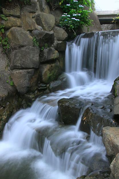 823 大川河口の滝 日立市