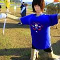 Photos: なでしこJAPANかかし 里美かかし祭2014
