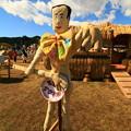 アキラ100%かかし 里美かかし祭2017