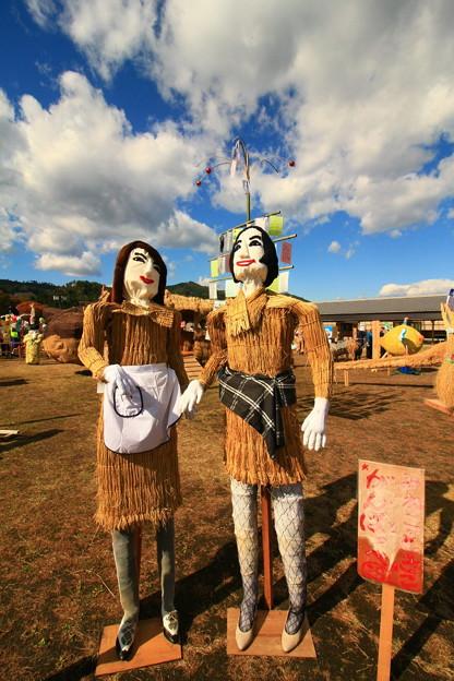 ひよっこかかし 里美かかし祭2017