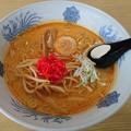 Photos: 牛乳みそカレー味ラーメン ラーメン武蔵・常陸太田