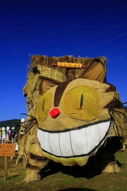 ねこバスかかし 里美かかし祭2014