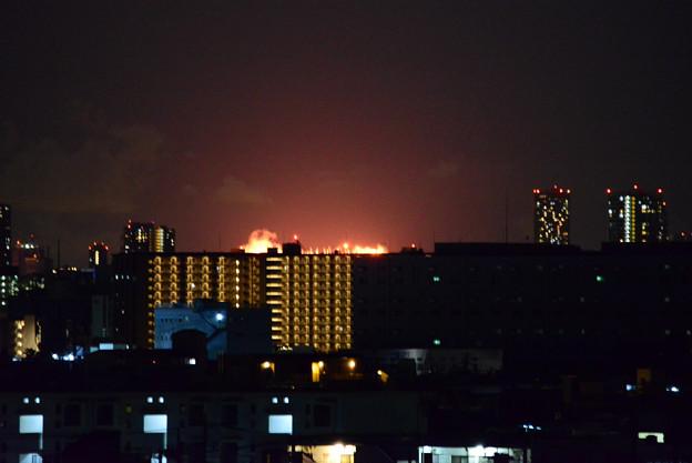 東京オリンピック聖火の瞬間