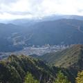頂上から湯沢駅