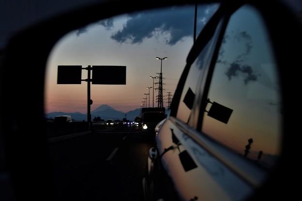 Photos: 夕焼け空に・・