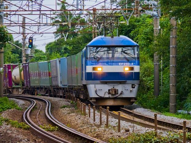 EF210-4 コンテナ列車