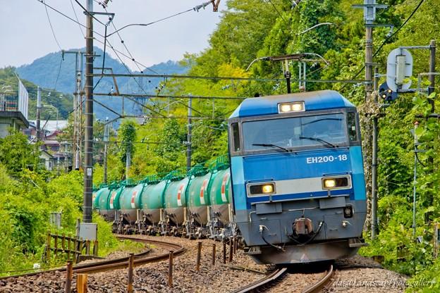 EH200-18 石油専用列車