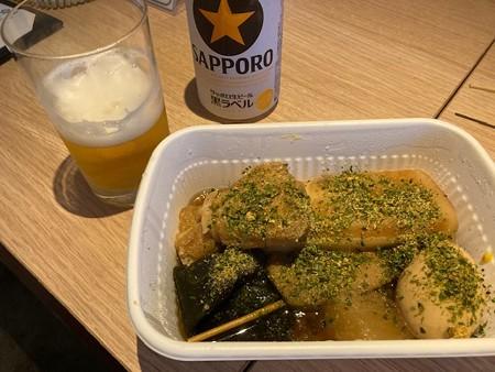 静岡おでんとビール