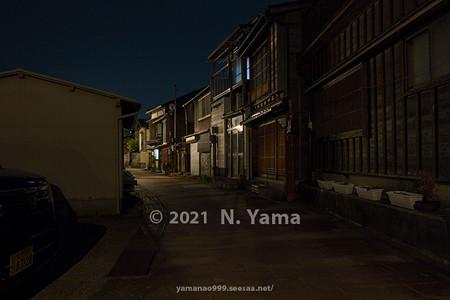2021年7月3日、金沢市彦三町