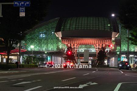 2021年7月8日、金沢駅