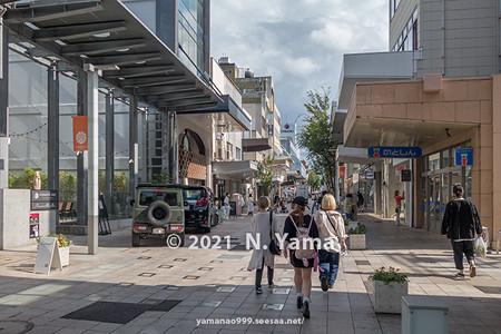 2021年9月5日、金沢市竪町