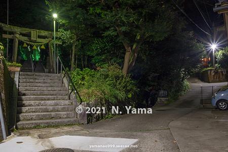 2021年9月15日、金沢市鳴和町