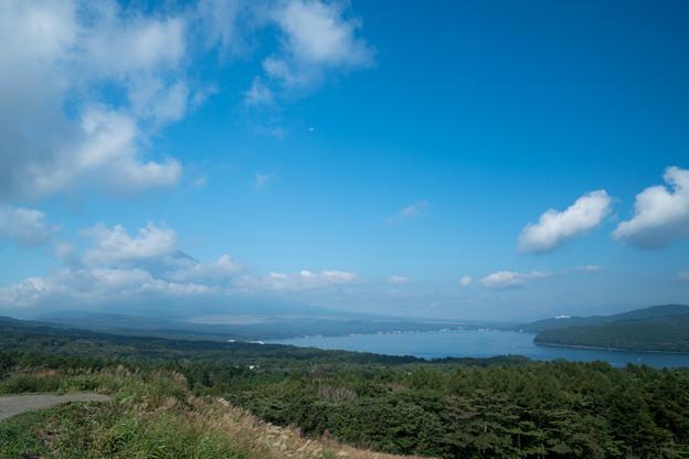 01富士五湖巡り【パノラマ台から見た富士と山中湖】