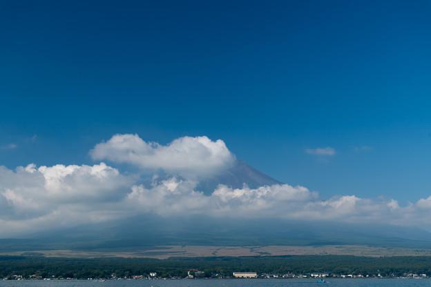 03富士五湖巡り【山中湖から見た富士】2